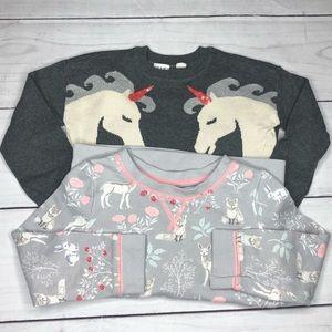 Little Girls Sweater 2 Piece Bundle